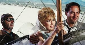 Полет на самолете – Этот безумный, безумный, безумный, безумный мир (1963)