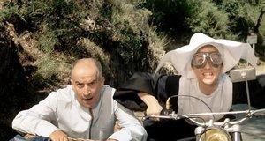 Погоня на мотоцикле – Жандарм женится (1968)