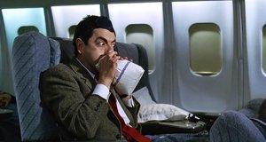 Взрыв пакета в самолете – Мистер Бин (1997)