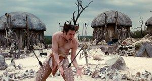Эйс Вентура с копьями в ногах – Эйс Вентура 2: Когда зовет природа (1995)