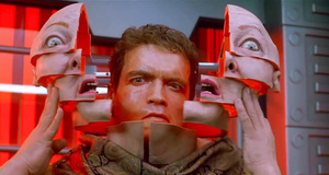 Арнольд Шварценеггер в теле женщины – Вспомнить всё (1990)