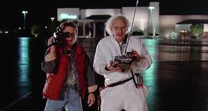 Первое тестирование машины времени – Назад в будущее (1985)