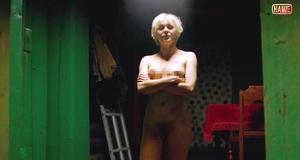Полностью голая Яна Троянова в эротической сцене – Небесные жены луговых мари (2012)