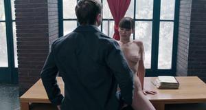 Голая Дженнифер Лоуренс в эротической сцене – Красный воробей (2018)