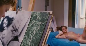 Полностью голая Адель Экзаркопулос в эротической сцене – Жизнь Адель (2013)