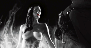 Горячая сцена с голой Евой Грин – Город грехов 2: Женщина, ради которой стоит убивать (2014)
