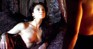 Голая Натали Дормер в постельной сцене – Тюдоры (2007)