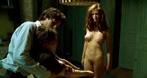 Голая Ева Грин в откровенной сцене – Мечтатели (2003)