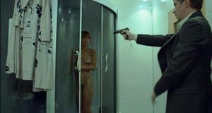 Полностью голая Екатерина Климова в откровенной сцене – Синдром дракона (2012)
