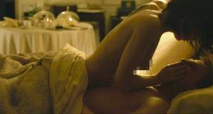 Голая Руни Мара в постельной сцене – Девушка с татуировкой дракона (2011)